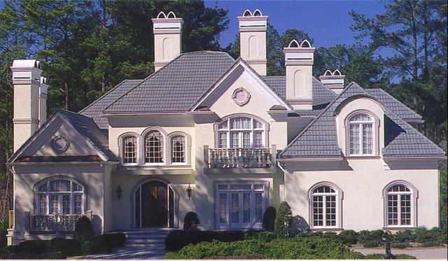 Light Gray Metal Tile Roof Modern Metal Roofing Is