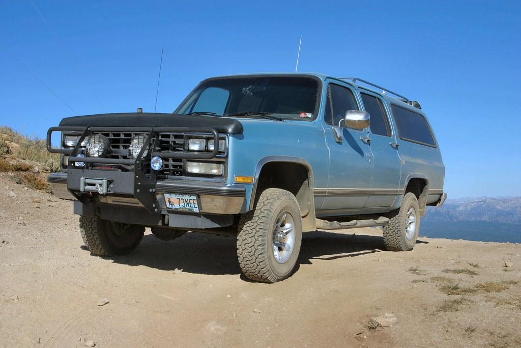New Chevy Silverado >> climbing | 1989 Chevy Suburban 1500 4x4 Silverado | Nicholas D. | Flickr