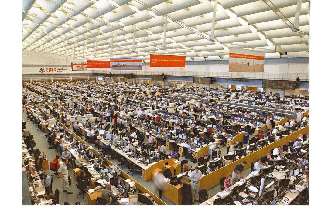 UBS Trading Floor | Jesal Doshi | Flickr