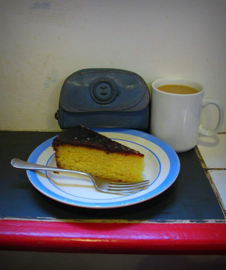 Polenta Cake With Limoncello Recipe