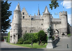 Medieval Castle Het Steen - Antwerp, Belgium | by Batikart... off !!!