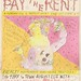 love don't pay the rent poster