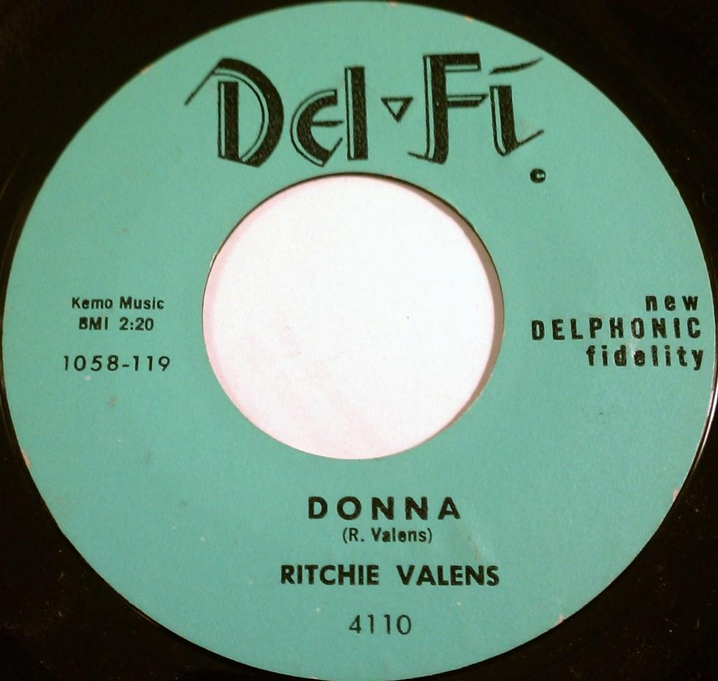 Ritchie Valens Donna Ritchie Valens Donna