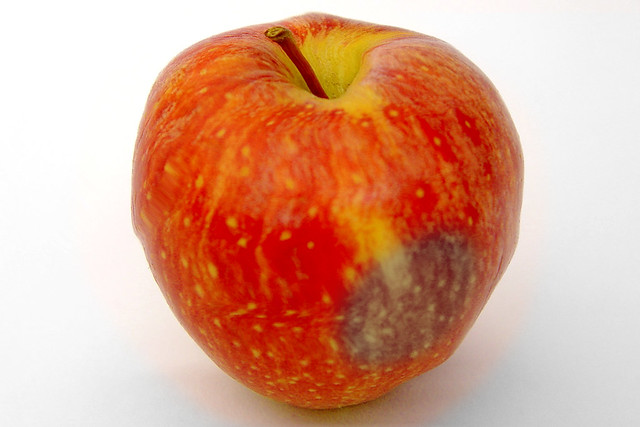 rotten apple this is a declined image designed for