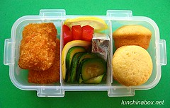 Fried fish bento lunch for preschooler | by Biggie*