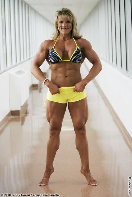 Angela Rayburn   More female muscle at: genex magazine