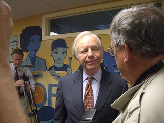 Senator Joe Lieberman | by WNPR - Connecticut Public Radio