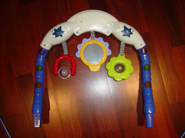 Fisher-Price Kick 'N Play, Calming Vibrations bouncer seat… | Flickr