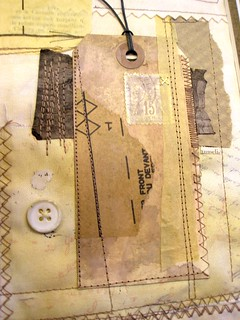 Seam Allowance - Art Journal Page | by notsoblandstore