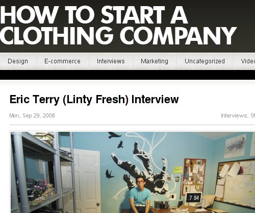 How To Start A Clothing Company More Info