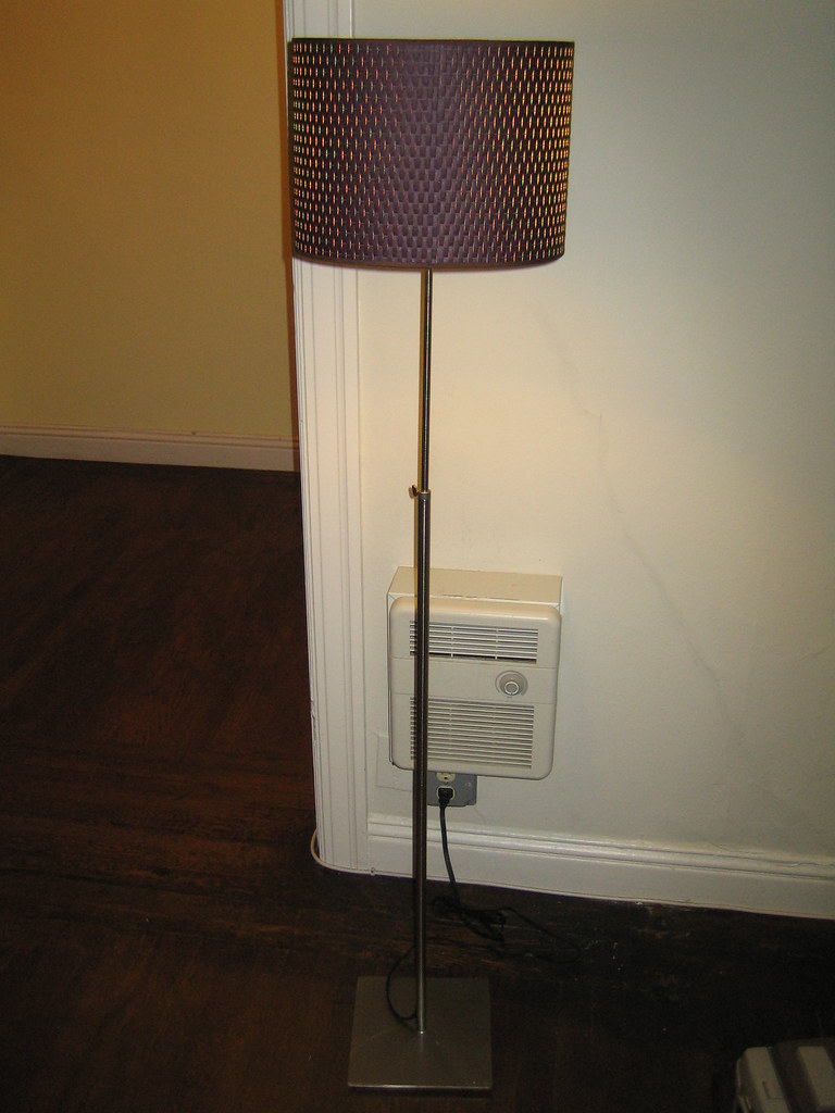 Ikea Patrull Klämma Barngrind ~ Ikea Alang Floor Lamp  Nickel Plated Brown 12  Width x 46 6