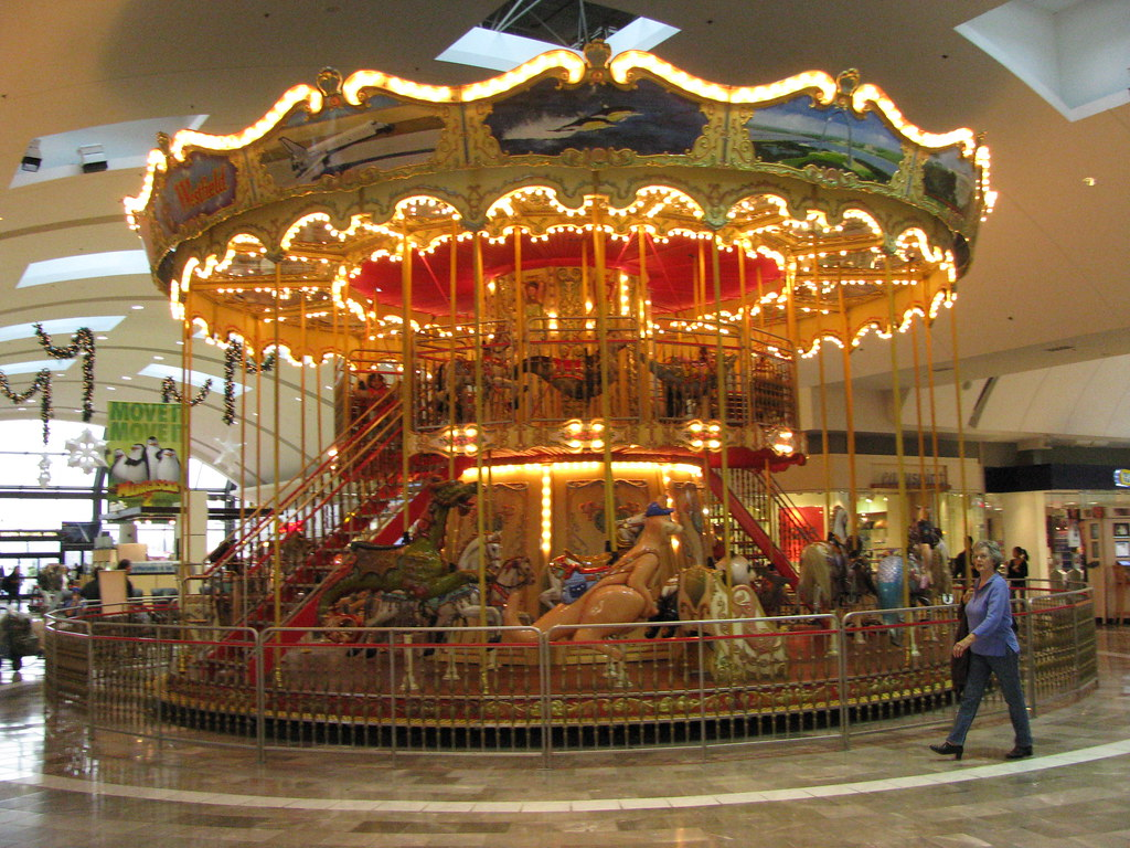 Carousel garden state plaza nj so for the past 48 hou flickr for Garden state plaza mall paramus nj