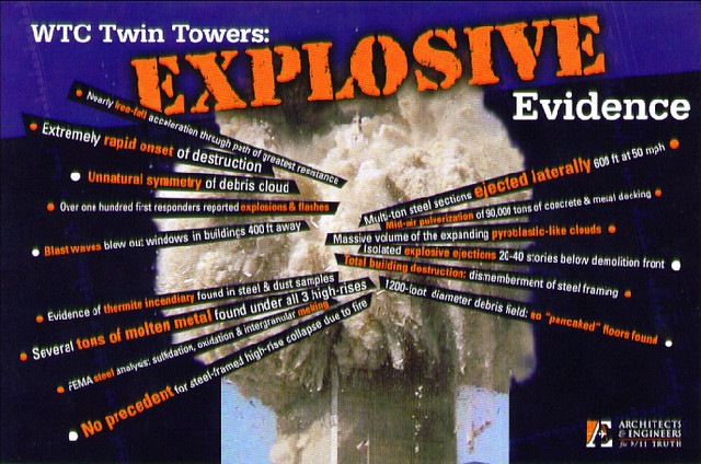 Wtc Twin Towers Explosive Evidence Wtc Twin Towers