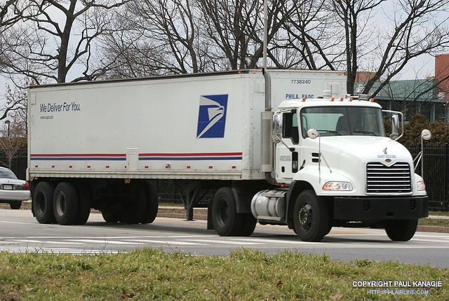 All Pro Trailers >> USPS Tractor Trailer | PHLAIRLINE.COM | Flickr