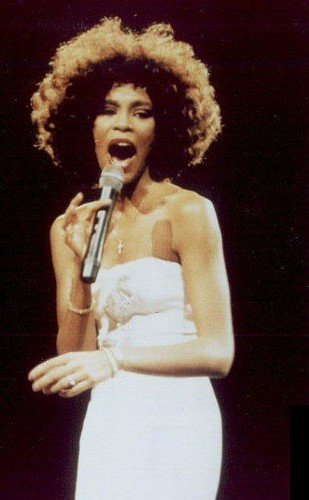 Whitney Houston In New Jersey 1986 This One I Took When
