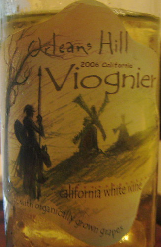 Orleans Hill 2006 Viognier (front) | by 2 Guys Uncorked