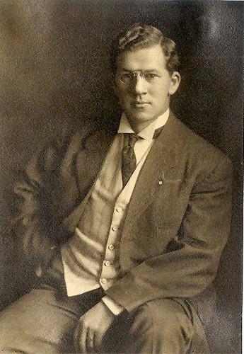 1920s Men S Fashion: Handsome Man C 1920's USA Portrait