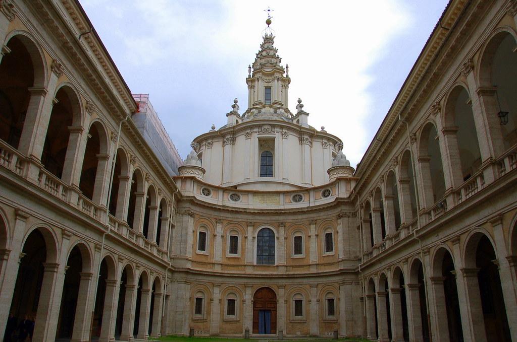 Rome Sant Ivo Alla Sapienza Sant Ivo Alla Sapienza Flickr