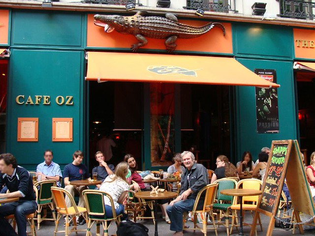 pub spinning paris au caf oz grands boulevards rencontr flickr. Black Bedroom Furniture Sets. Home Design Ideas