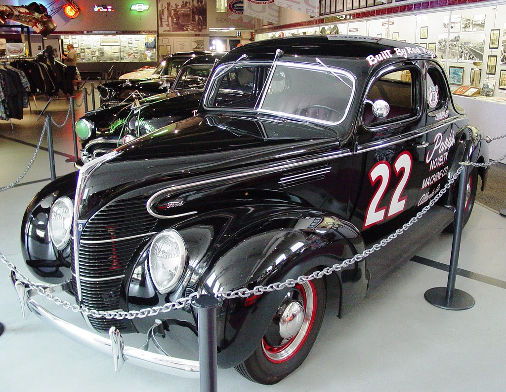 1939 Ford Standard Coupe NASCAR Stock Car Wally Parks NHRA ...
