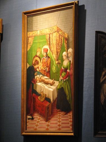 Colegiata de San Cosme y San Damián - Milagro de San Cosme y San Damián (Berr...