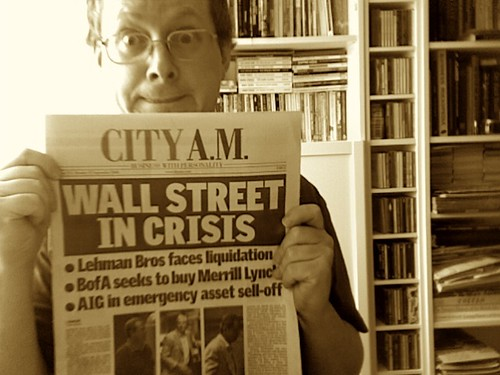 Wall Street in Crisis | by jovike