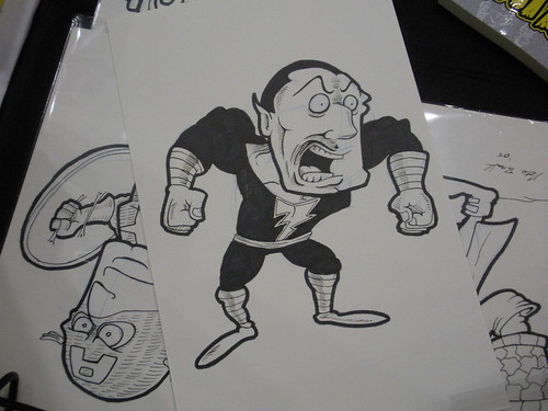 Black Adam Sketch | by natebramble