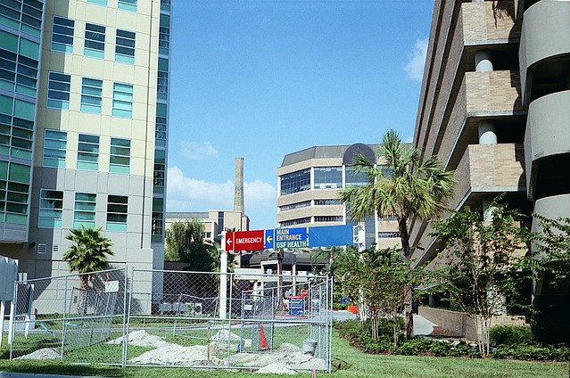 Ye Olde Smokestack Many Layers Of Hospital Construction