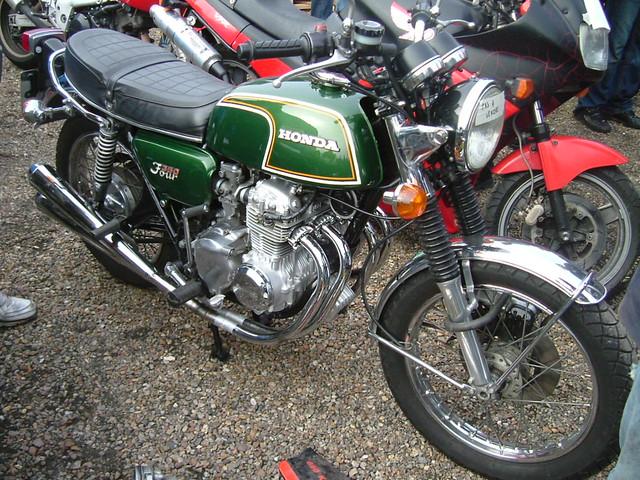 honda cb 350 four 1974 moto puces elbeuf 2008 flickr. Black Bedroom Furniture Sets. Home Design Ideas