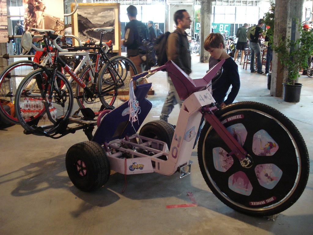 Motorized Bigwheel W Bike Rack Gino Flickr