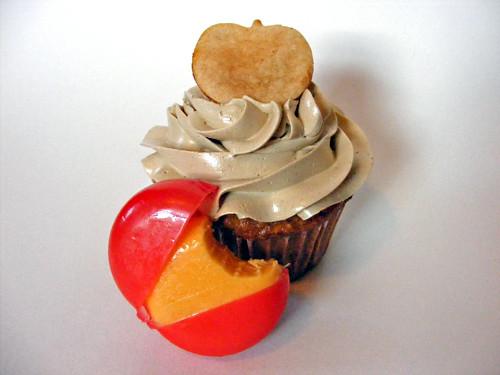 IronCupcake: Apple & Sharp Cheddar Cupcake | by howtoeatacupcake.net