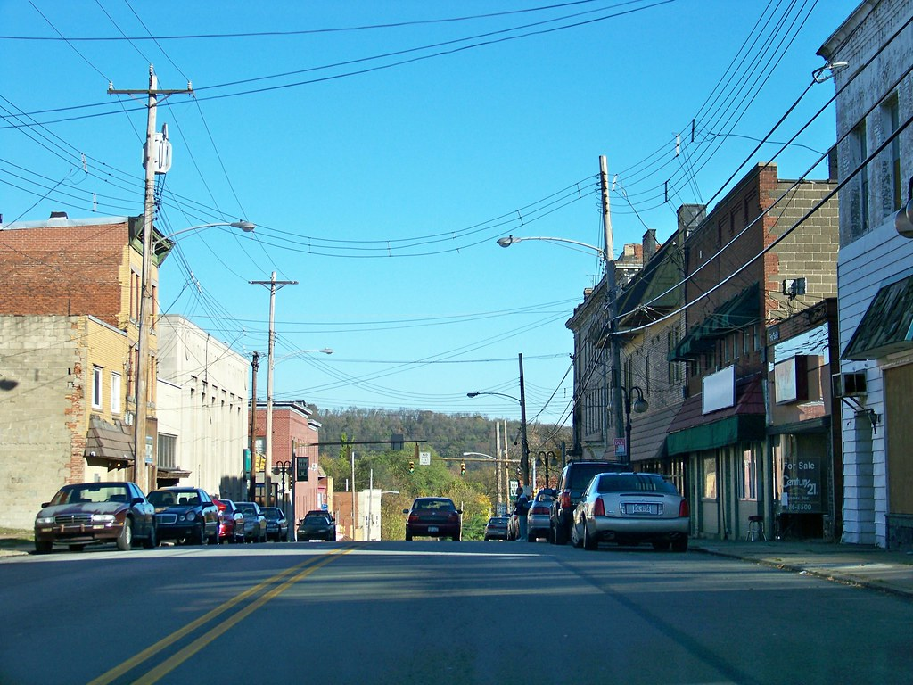 Clairton Pa Clairton Pa Looking Down St Clair Ave