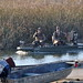 Duck hunters returning to port