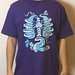 Staple Innards Tee - Purple