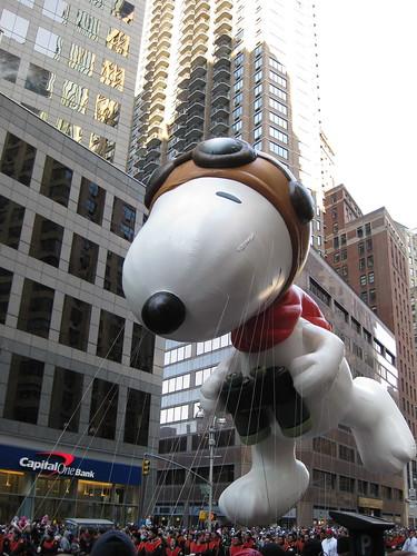 Snoopy looking out for the Red Baron | by Ben+Sam