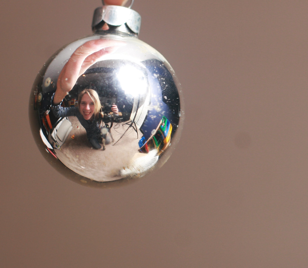 340  366 christmas ball reflection day 340 let me just let me just say yes yes yes let me just say from the bottom of my heart my bad