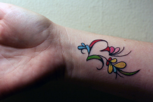 My Wrist Tattoo. | by Laundry Broad
