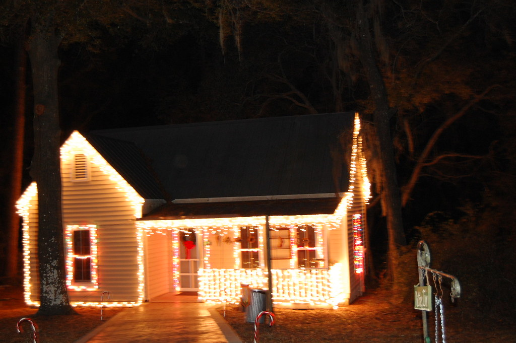 Stephen Foster Christmas Lights