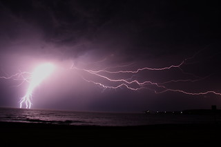 Shellharbour; Lightening | by The Waterboy