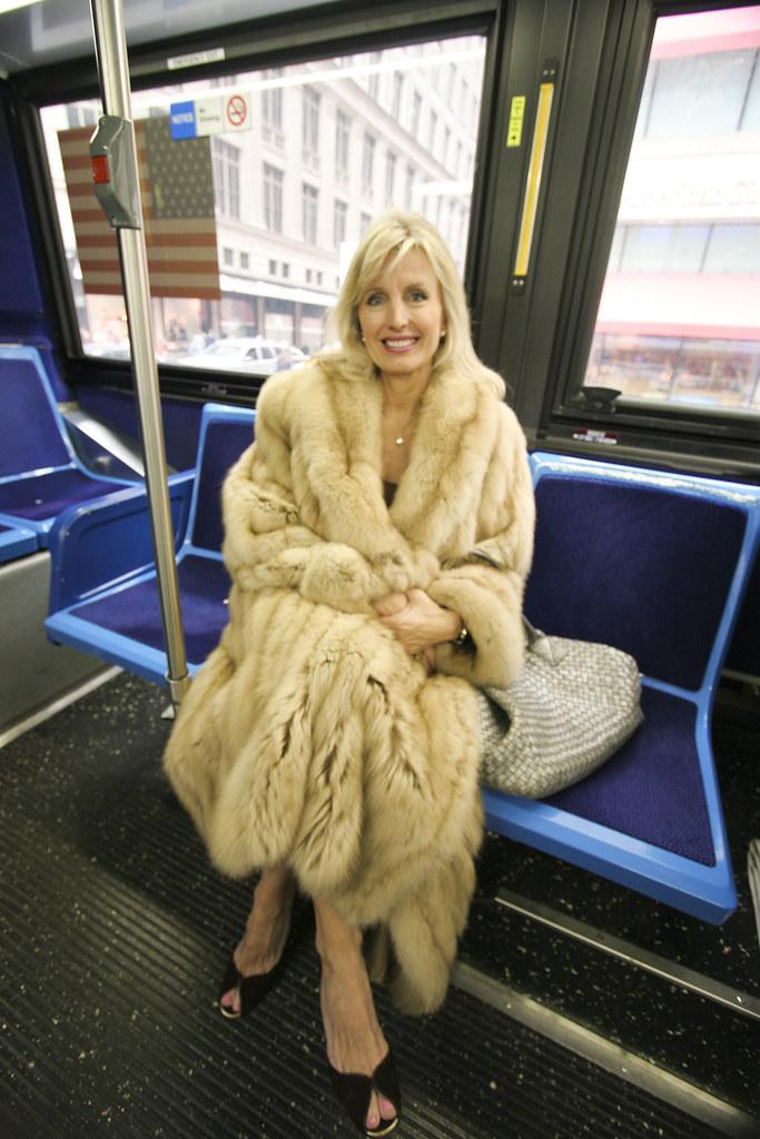 Old Fashion Fur Cape