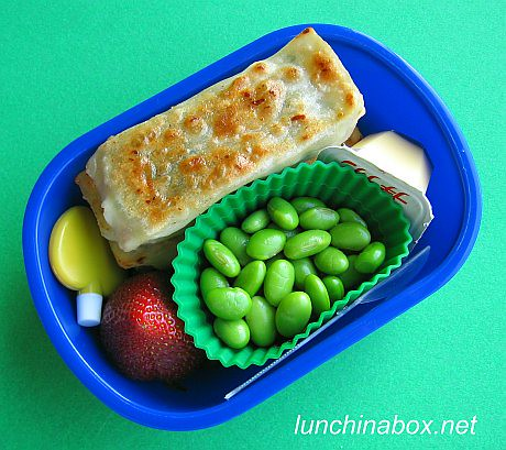 Korean mandu bento lunch for preschooler | by Biggie*