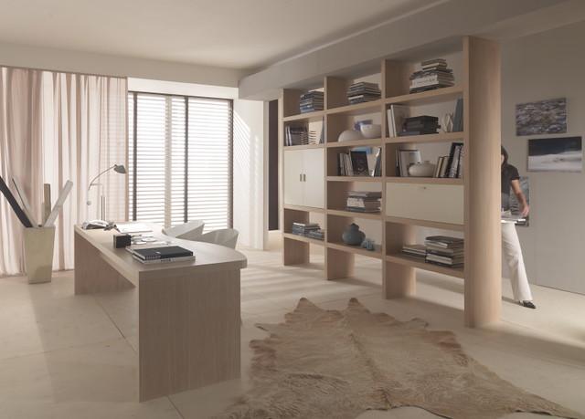 Mazzali krea bookcase libreria krea living area for Cloison murale amovible