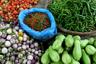 Produce at the Phosy Market outside Luang Prabang, Laos | by Eating In Translation