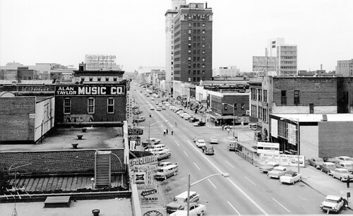 Main Street Looking North 1958 Photograph Columbia S