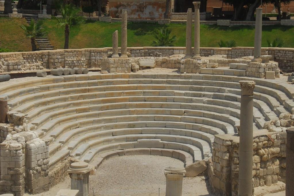 Roman theatre alexandria a small 13 terrace theatre for Terrace theater movie times