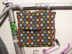Bicycle lunch bag | by 1lenore