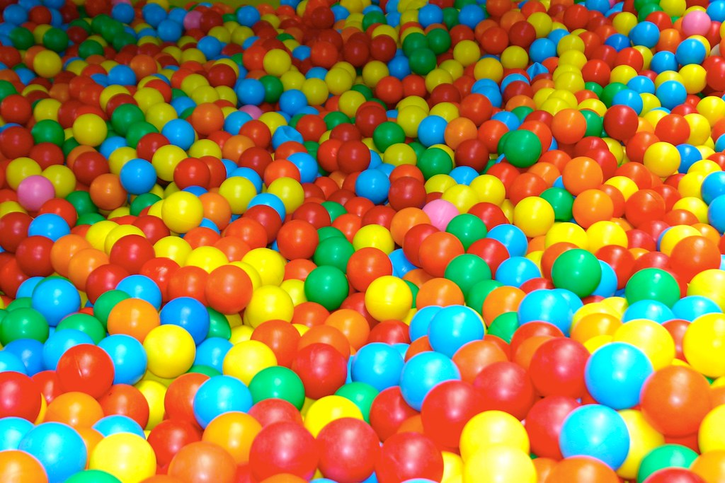 Ball pool   Ball pools rock.   Adrian Cockle   Flickr