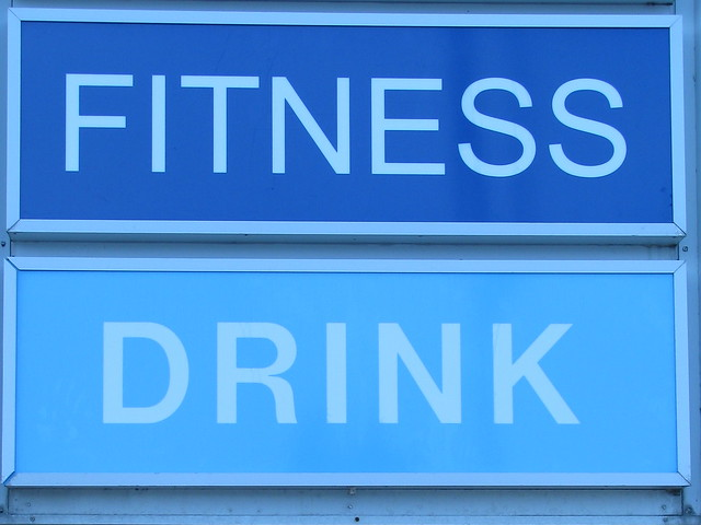 fitness drink it tastes delicious and gets you fit but it