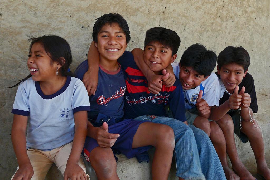 Niños del Perú en Narihuala