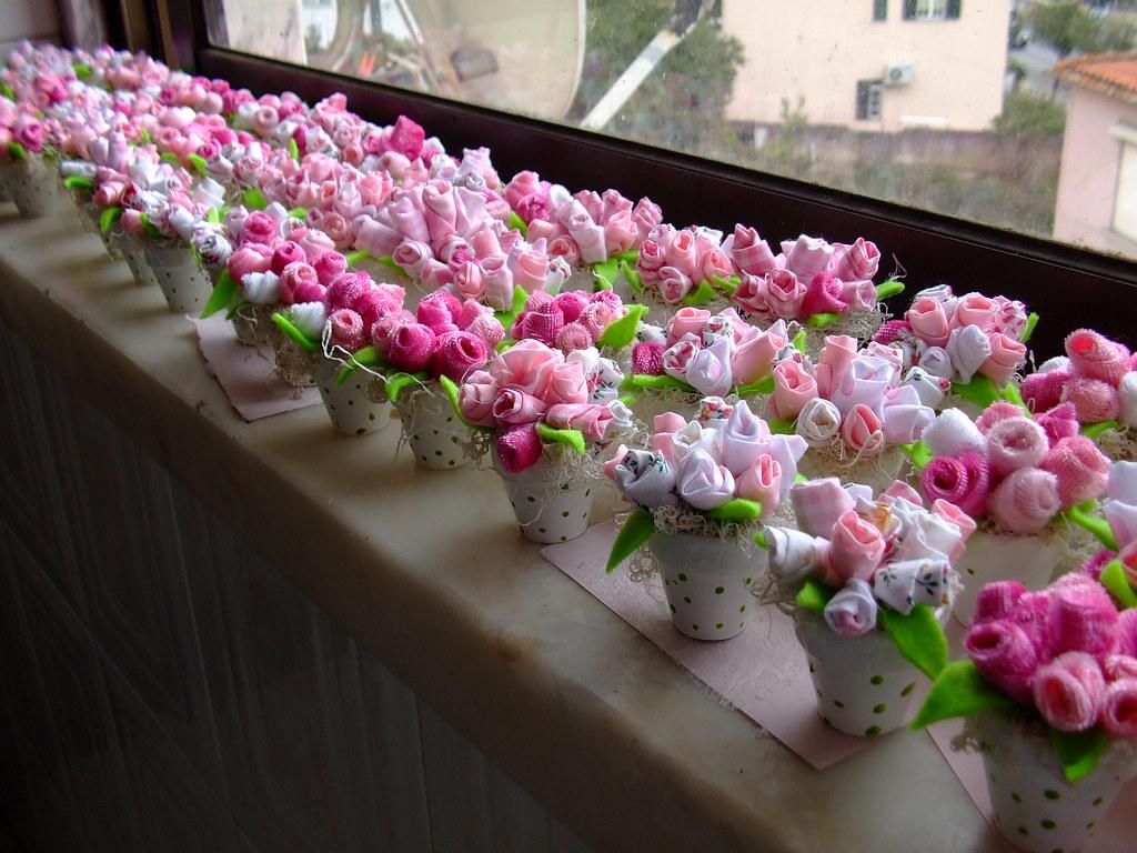 Поделки украшения для цветов